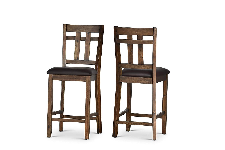 Amazon.com: Steve SA2000CC - Juego de 2 sillones de contador ...