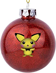VinMea Xmas Ball Ornament Pichu Holiday Home Accents Tree Decorations for Party Wedding