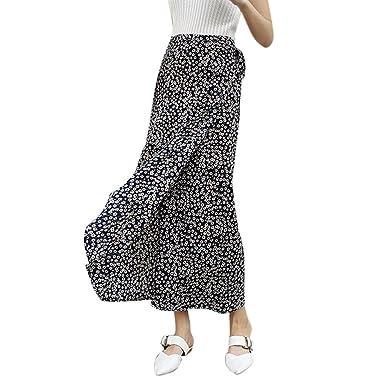 c835e25e111ca0 EFINNY Womens Boho Floral Tie up Waist Summer Beach Wrap Cover up Maxi Skirt
