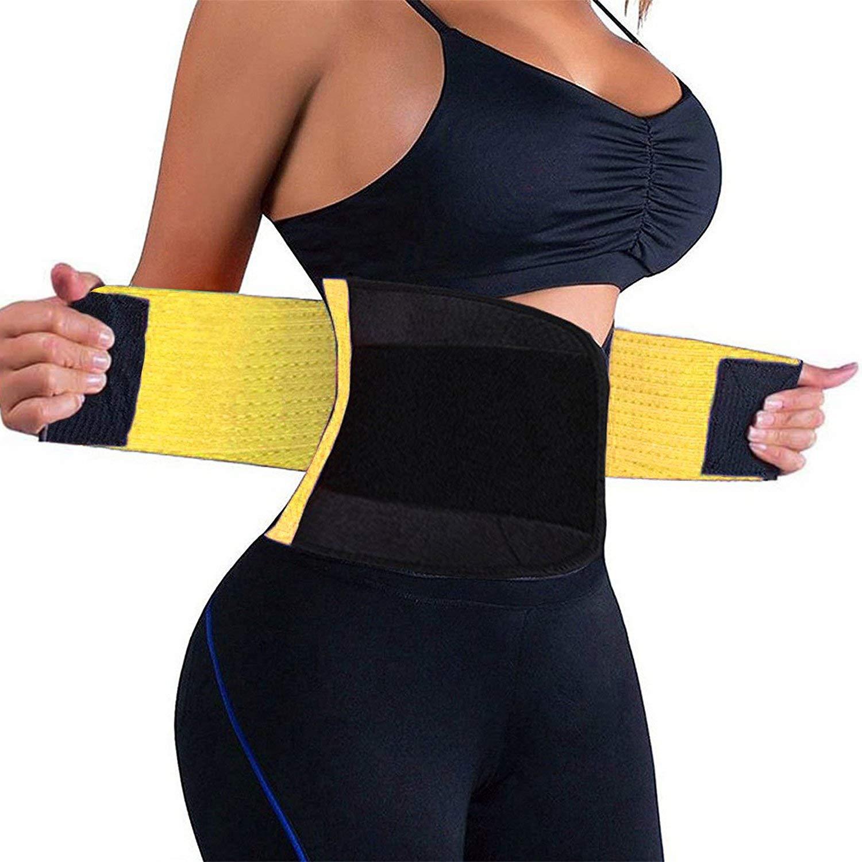 Body Shaper Waist Cincher Belt 2019 Upgrated Waist Trainer Belt//Waist Trimmer for Women Slimming Body Shaper Belt