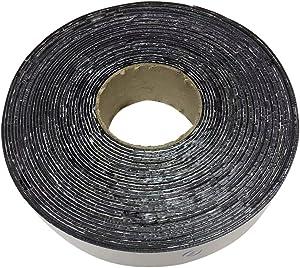 (615) Asphalt Tarmac Parking lot Joint and Crack Sealer Hot Repair Filler Tape 50 FT Long (2 inchs x 50ft Tape)