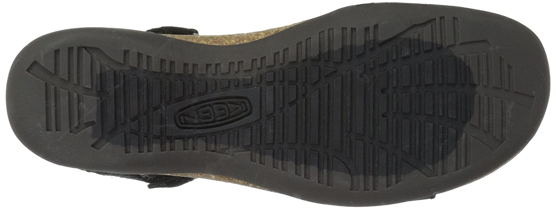 KEEN Women's Ana Cortez W Sandal B06ZZN1R9Y 9.5 B(M) US|Black/Black