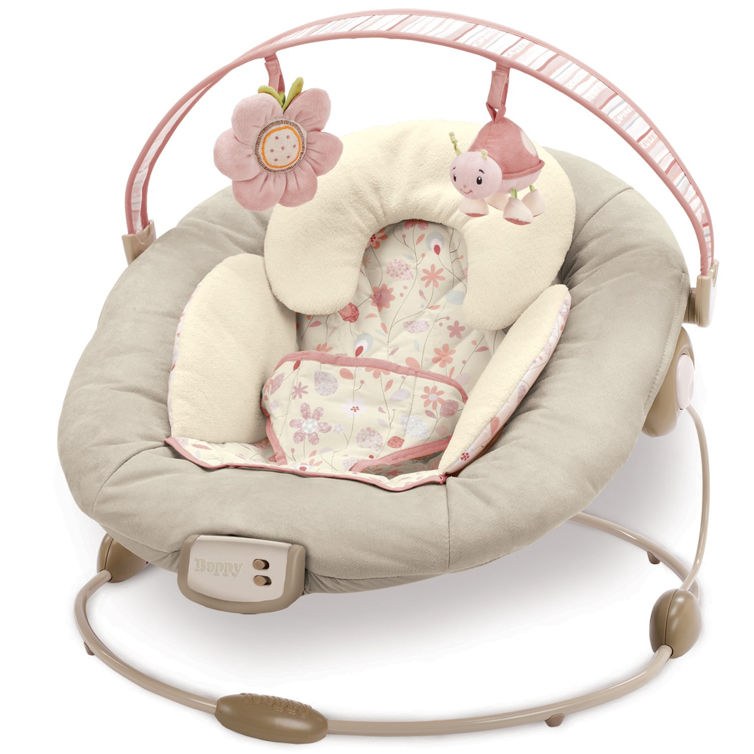 Amazon : Boppy Cradlert Bouncer  Pink (discontinued By  Manufacturer) : Infant Bouncers And Rockers : Baby