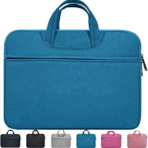 "14-15 Inch Waterproof Laptop Case Sleeve for HP 2019 14"" Laptop,Acer Chromebook 14,HP Stream 14"",14"" Lenovo Thinkpad,MacBook Pro 15 A1770 A1990,14"" Lenovo LG Dell Toshiba HP ASUS Acer Laptop Bag,Blue"