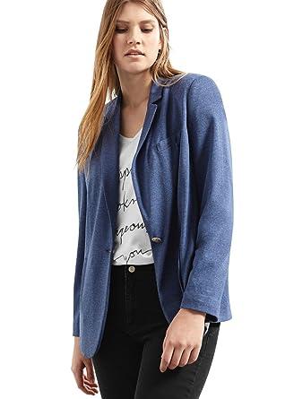 VIOLETA - Chaqueta de traje - para mujer azul M : Amazon.es: Ropa ...