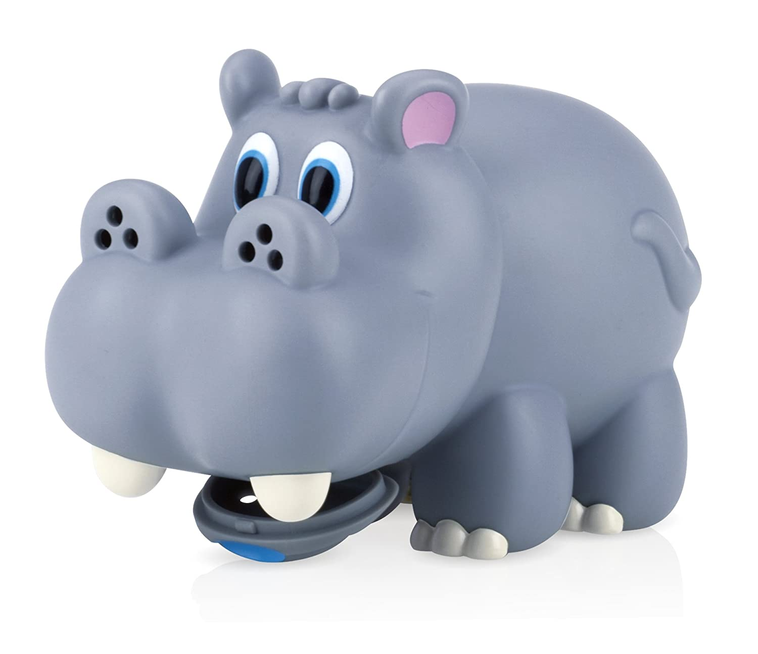 Nuby Hippo Water Spout Cover in Gray