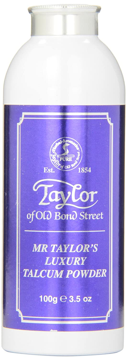 Taylor of Old Bond Street Mr. Taylors Talcum Powder, 100 Gram Spicy World of USA Inc 07151