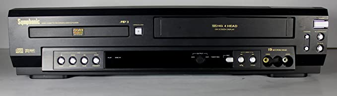 VCR Symphonic # SE436D 4-Head Video Cassette Recorder