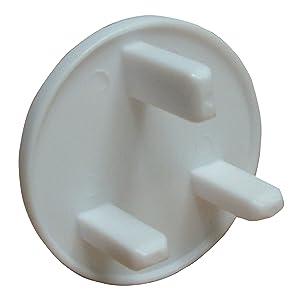 Cigüeña Niño Cuidado Productos enchufe tapas (Pack de 8)