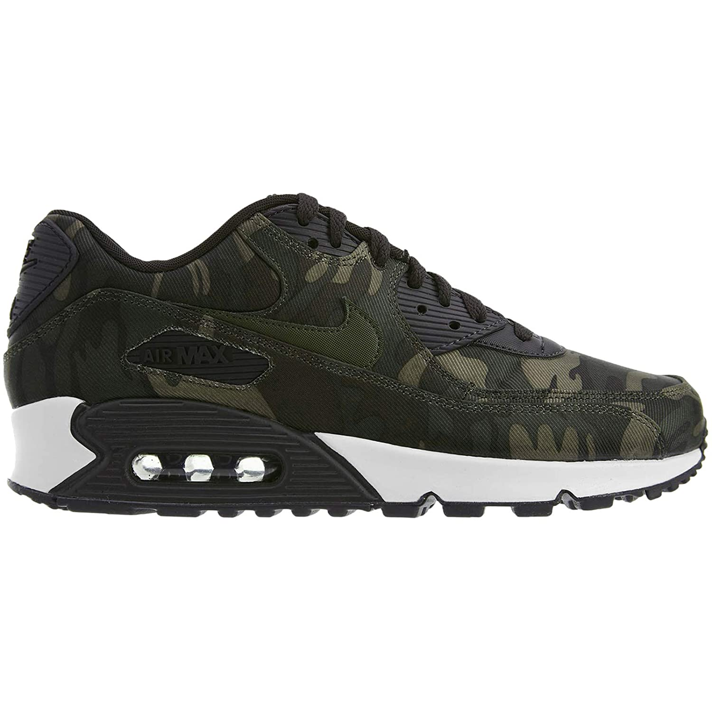 Unión agricultores Párrafo  Nike Women's Air Max 90 CSE Camouflage-Print Sneakers, Oil Grey/Cargo  Khaki-White (US 7): Amazon.in: Sports, Fitness & Outdoors