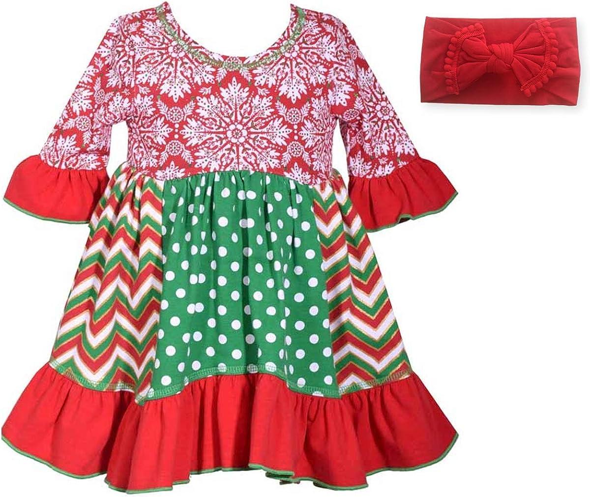 Handmade Reborn doll clothes//white dress w//plaid trims//hair bow