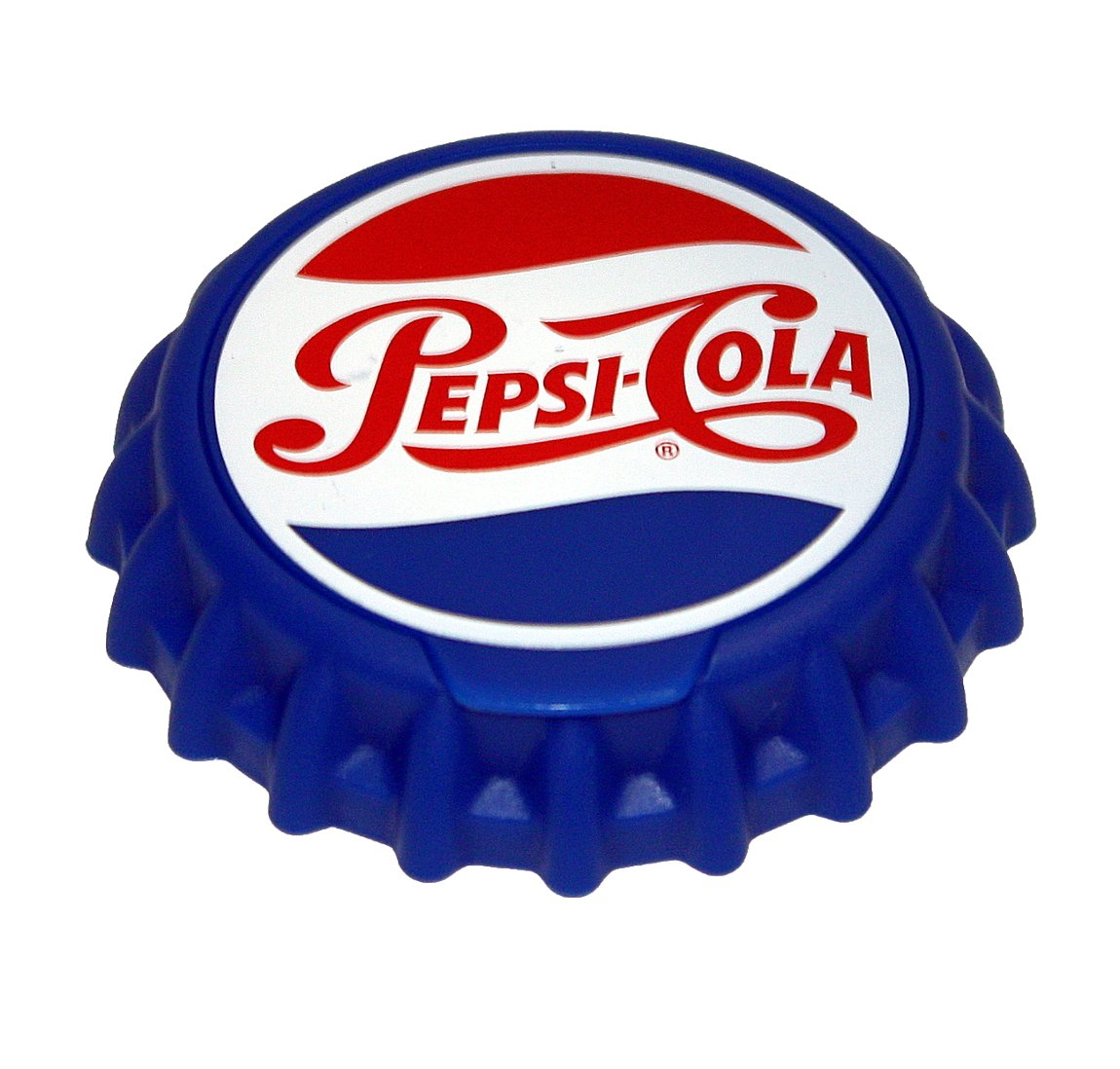 Jokari 18011P1 1 Count Pepsi Heritage Logo Snap and Sip Can Cap, Red/White/Blue