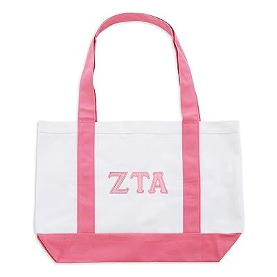 Fashion Greek Womens Zeta Tau Alpha Classic Tote well-wreapped