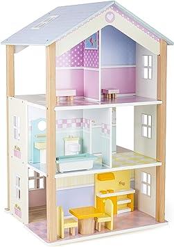 Small Foot Maison de poupée Palais à 3 étages, tournante