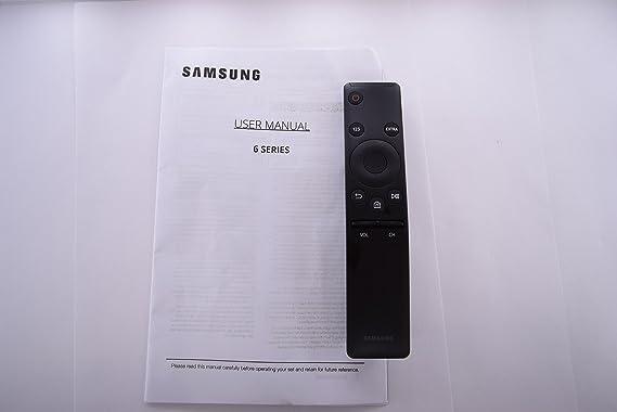 Samsung un50ku630df un55ku630df un50ku6300 F un55ku6300 F TV mando a distancia y manual de usuario 20604: Amazon.es: Electrónica