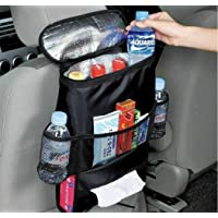 Car Garbage Bin Foldable Trash Can Litter Container Waterproof for Wastebasket Tidying-Ice&Heat Bag