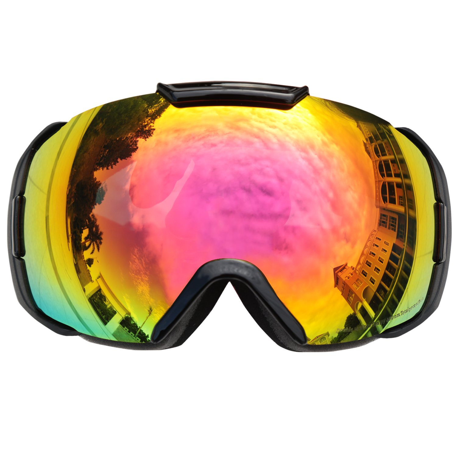 be nice ski goggles  Amazon.com : Premium OTG Ski Snowboard Goggles with REVO Lens Anti ...