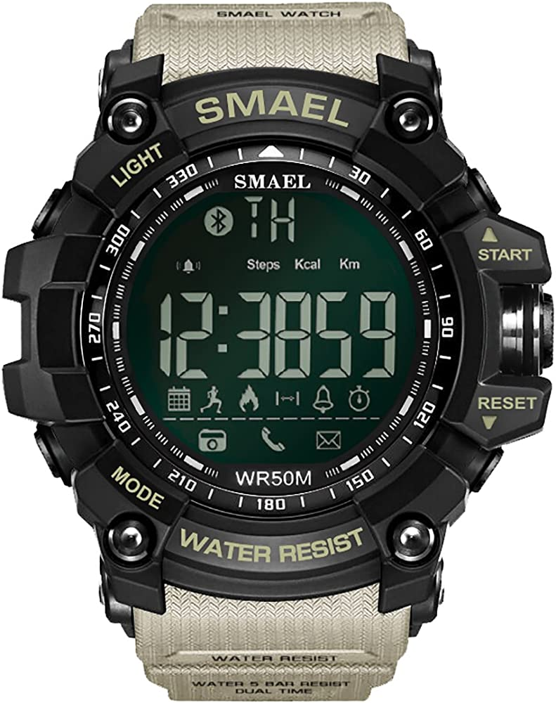 SMAEL Sports Watch Digital Wrist Watch Quartz Movement Military ...