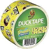 Duck ダクトテープ 48 mm x 9.1 m (スポンジボブ - 黄) [並行輸入品]
