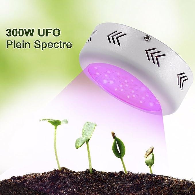 Ufo 300w Outad Croissance Plante Lampe De Végétation OPXkZiu