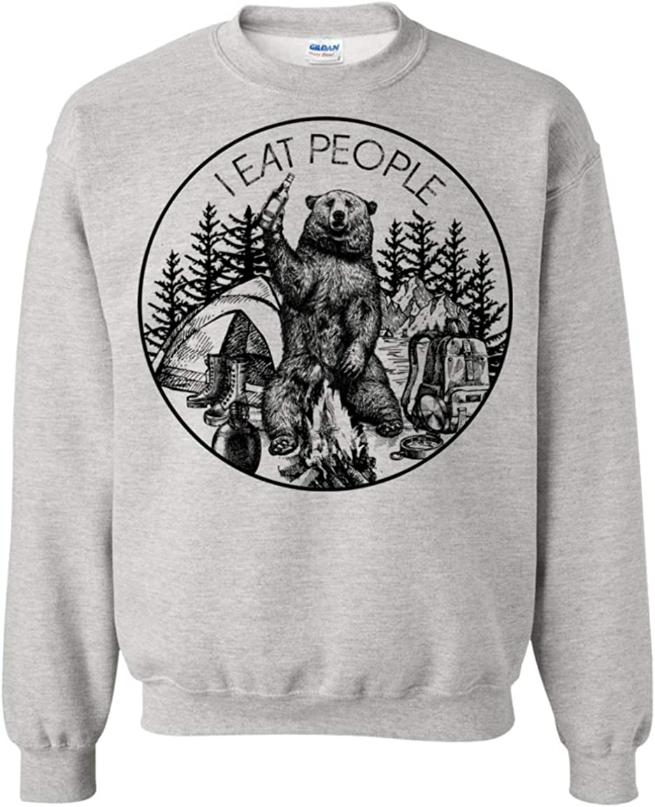 I Hate People Tshirt Unisex Bear 2 Camping Outdoors