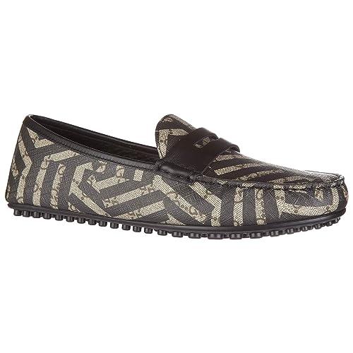 c80f4482f40 Gucci Men s Loafers Moccasins caleido gg Supreme mirò Soft Black   Amazon.ca  Shoes   Handbags