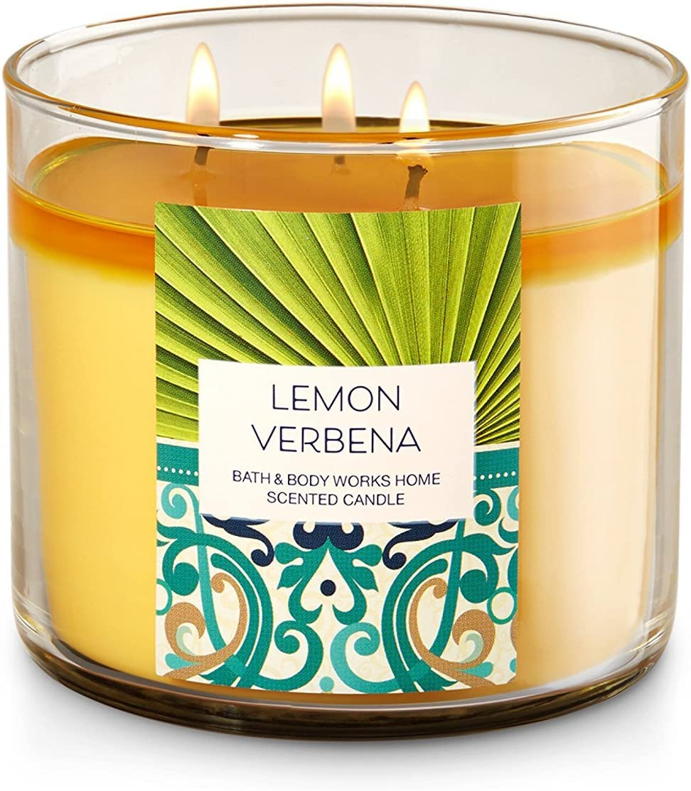 4 oz Lemon Verbena Super Scented Soy Candle Tin