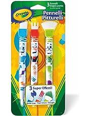 CRAYOLA 05-1061 - Set 3 Pennelli Pitturelli