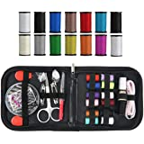 985dfcf9e Mini Sewing Set DIY Travel Premium Sewing Supplies Portable Kits Including  Sewing Needles, Scissors,