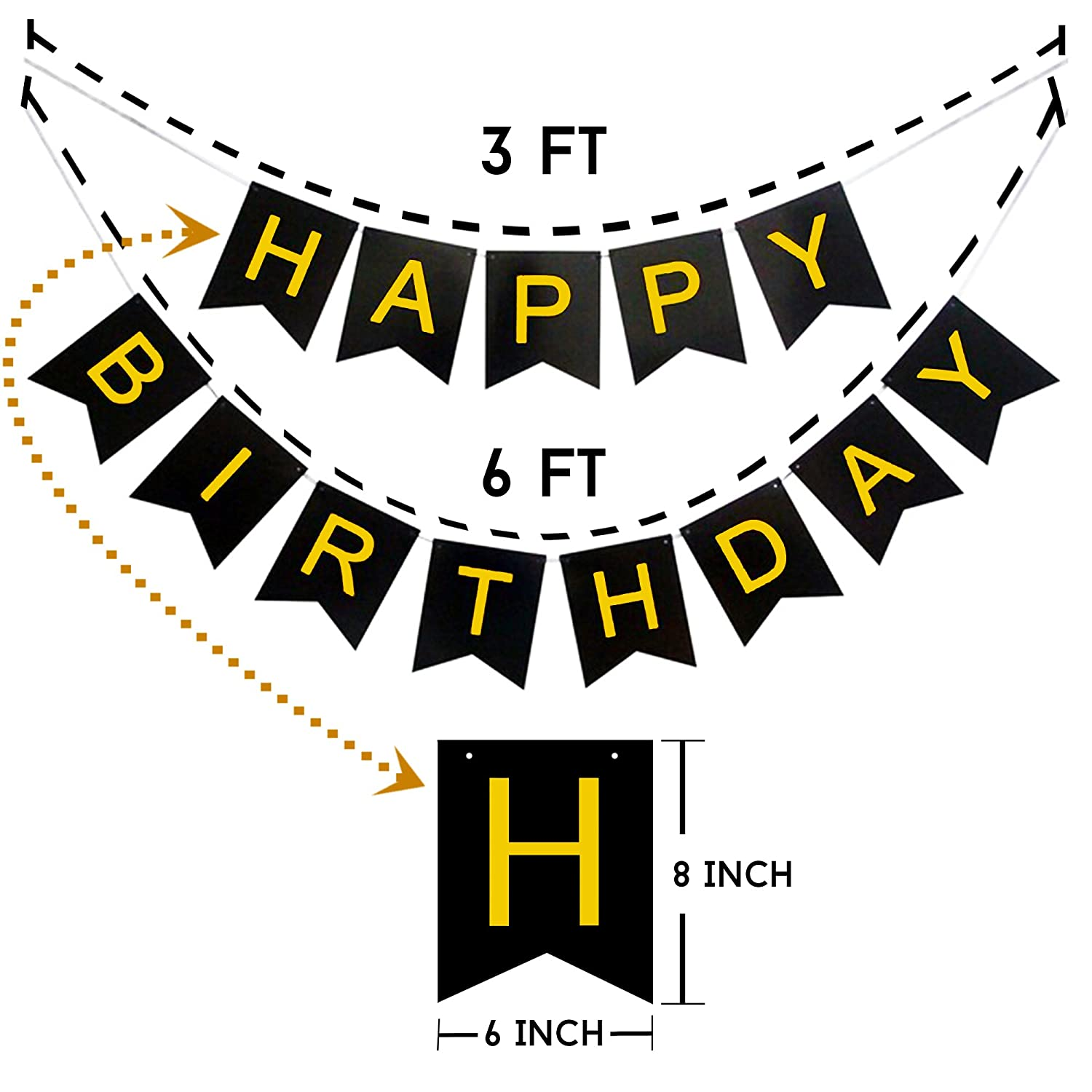 Age 40 Happy 40th Birthday PARTY ITEMS Decorations Tableware BLACK /& SILVER