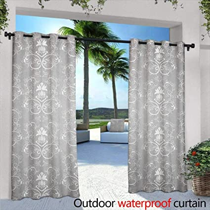 Amazon.com : Marilds Damask Curtains for Living Room Damask Style ...