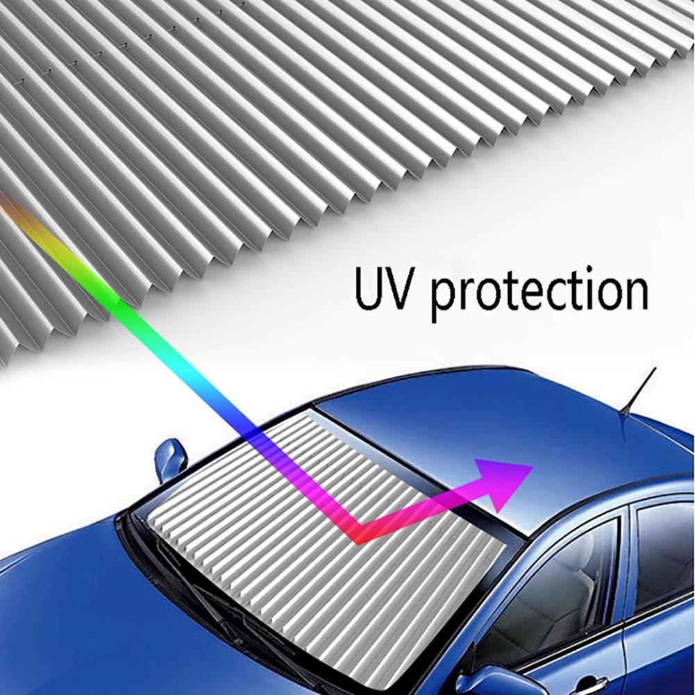 Rollos YXX Auto-Sonnenschutz f/ür Frontfenster Saugn/äpfe Universal Auto Windows Shades gr/ö/ße : Length:65cm Auto-Sonnenschutzrollo-Sonnenschutz Bl/öcke sch/ädliche UV-Strahlen