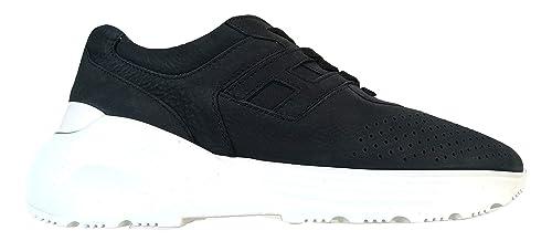 finest selection 6e8b9 d3c56 Hogan Scarpe Uomo Sneaker H443 Active One H Lunga HXM4430BR106RNU810 Blu  Denim (40 EU -