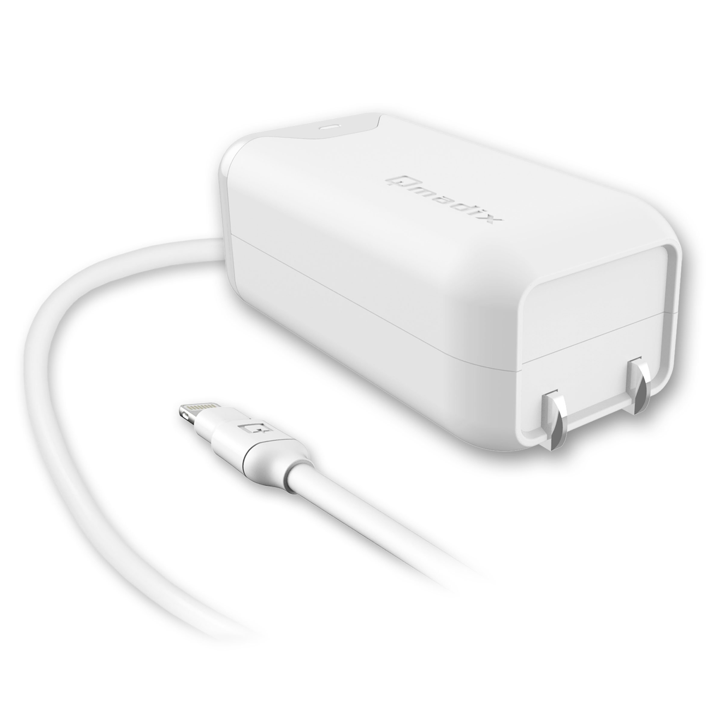 Apple Certified Lightning Travel Home Charger for iPhone, iPad and iPod - 2.4 Amp Apple Travel Home Charger Compatible with iPhone, iPad and iPod Products