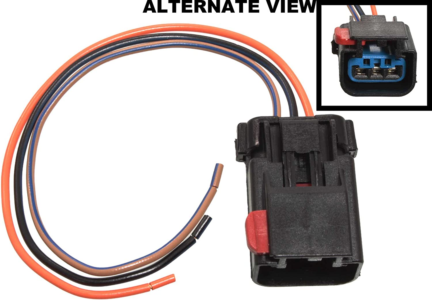 Amazon.com: APDTY 756298 Wiring Harness Pigtail Connector 3-Wire Direct Fit  Cam Crank Sensor Power Window High Low Horn Wiper HVAC AC Heat Auto Temp  Control Power Mirror Compass Hybrid Turn Signal ParkAmazon.com