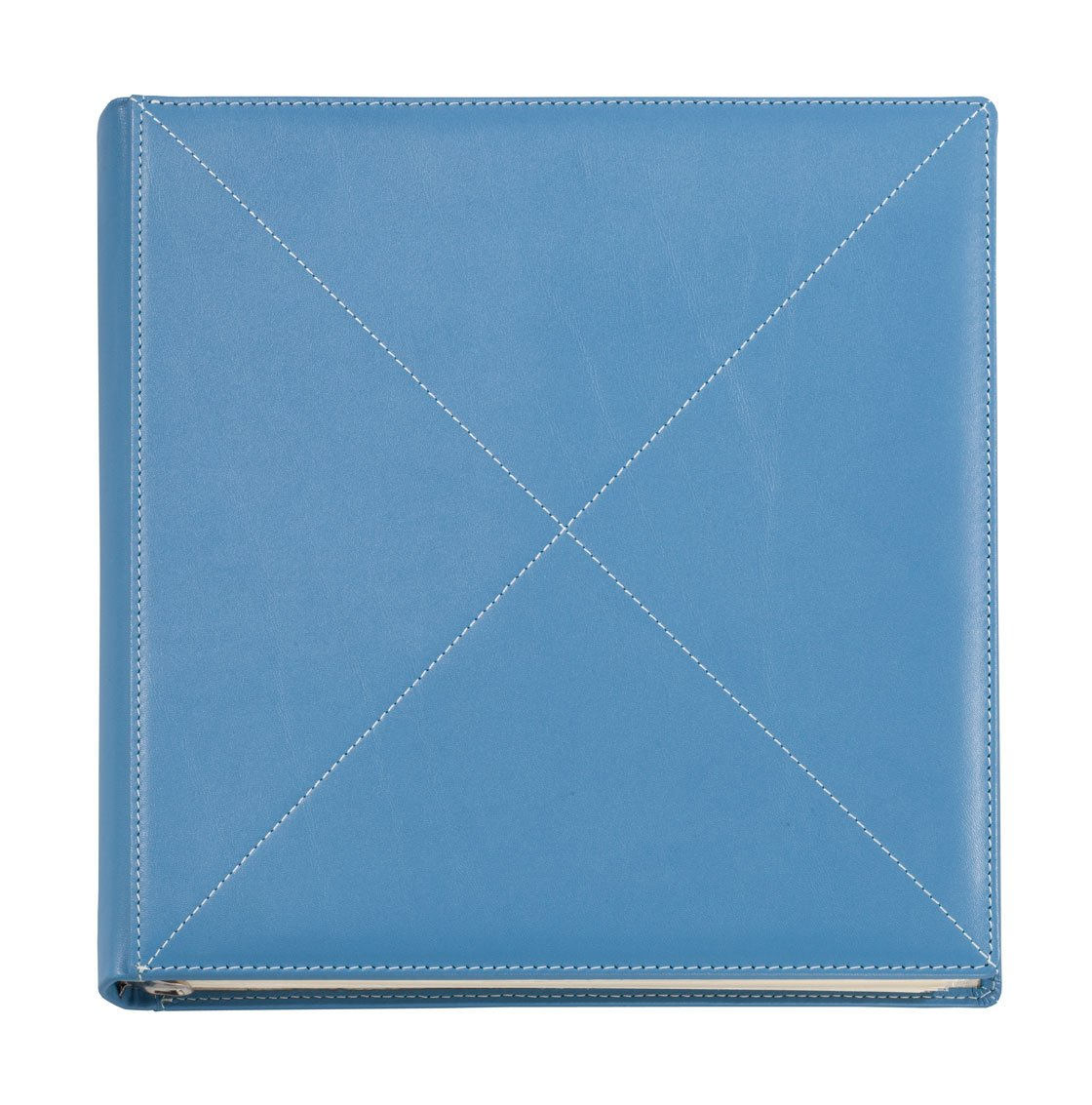 Exposures seaspray Leather Cross Stitch Ring Album