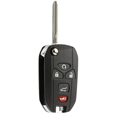 Flip Key Fob Keyless Entry Remote fits Chevy Suburban Tahoe Traverse/GMC Acadia Yukon/Cadillac Escalade SRX/Buick Enclave/Saturn Outlook (OUC60270, OUC60221): Automotive