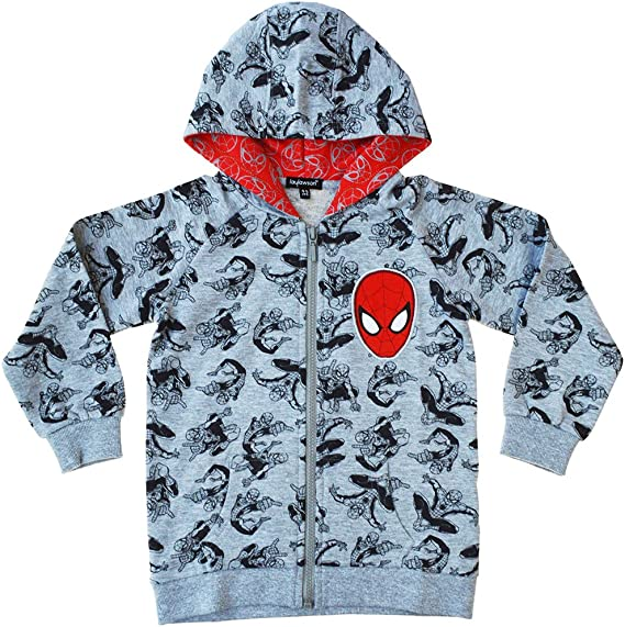 Marvel Amazing Spider-Man 2 Reversible Hoodie Toddler Boys /& Little Boys