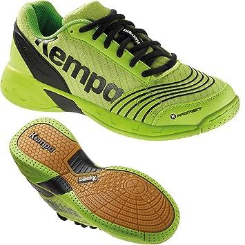 Kempa Zapatillas de balonmano Zapatillas para niños Hope verde/negro, verde: Amazon.es: Deportes y aire libre