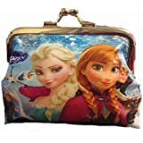 1PCS Frozen Coin Purse Wallet Elsa Anna Olaf Party Supplies Gifts