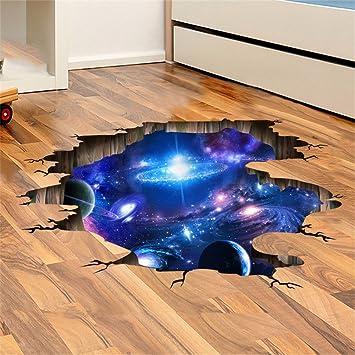 LAONA Creative 3D Sticker (Galaxy des Universums)-blaue Wohnzimmer ...