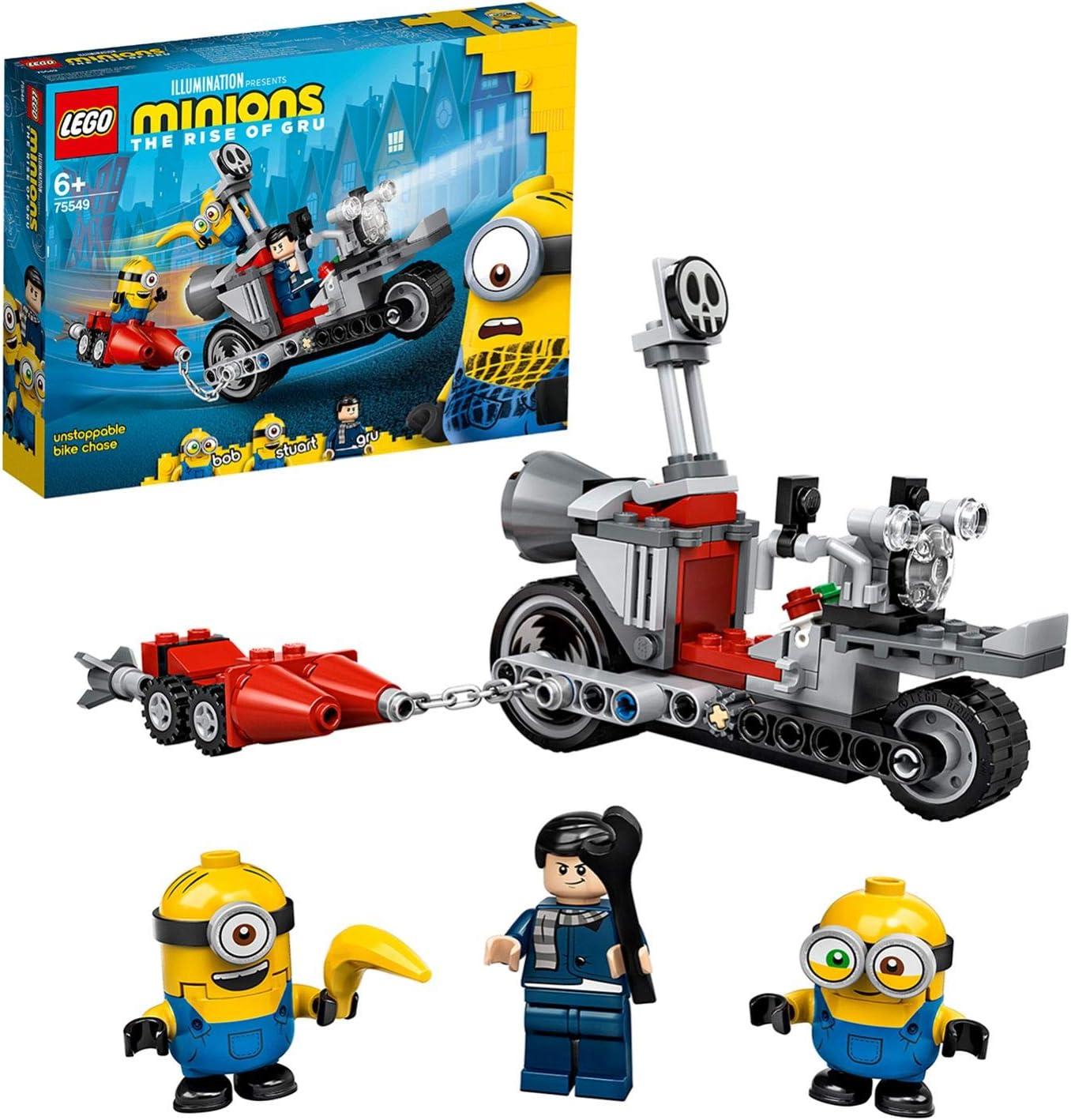 レゴ(LEGO) ミニオンズ ミニオンのバイクチェイス 75549
