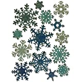 Sizzix 661599 Thinlits Die Set, Paper Snowflakes, Mini by Tim Holtz (14-Pack),,
