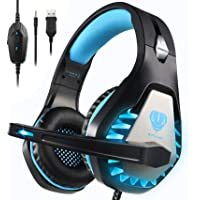 BUTFULAKE GH-1 Gaming Headset for PS5, PS4, Xbox One, Xbox One S, PC, Nintendo Switch, Mac, Laptop, 3.5mm Wired Pro…