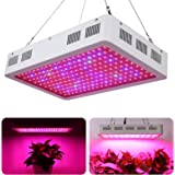 Roleadro LED Plants Grow Light Galaxyhydro Series Full Spectrum 600W Indoor Growing Lamp Kit with UV IR for Hydroponic Greenhouse Plants Veg and Flower