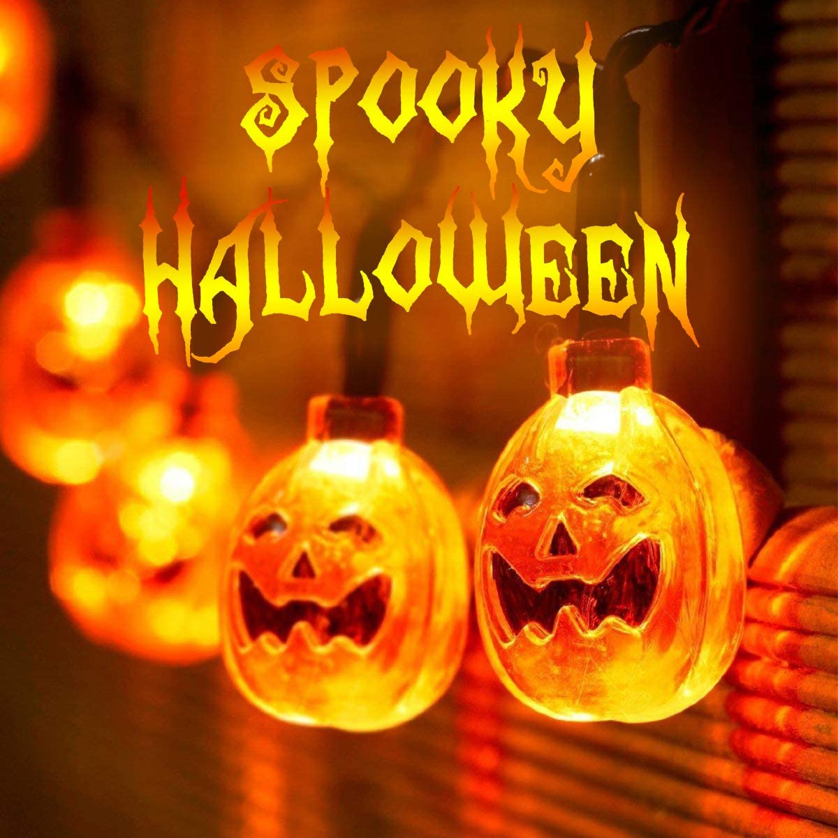 Amazon Isagax Halloween Decorations String Lights 20