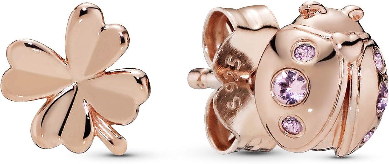 Pandora Pendientes de botón Mujer vermeil - 287960NPO