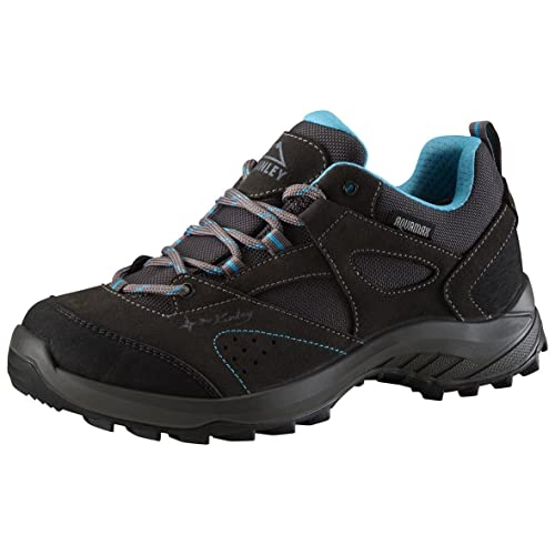 McKINLEY Multifunktionsschuh Travel Comfort, Zapatos de Low Rise Senderismo para Mujer, Gris (Dunkelgrau