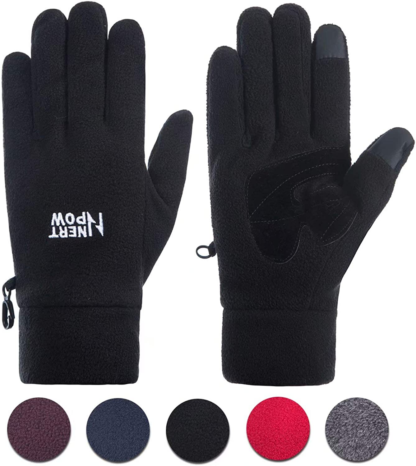Ladies Thermal 3M Thinsulate Lined Polar Fleece Gloves Womens Adults Winter Warm
