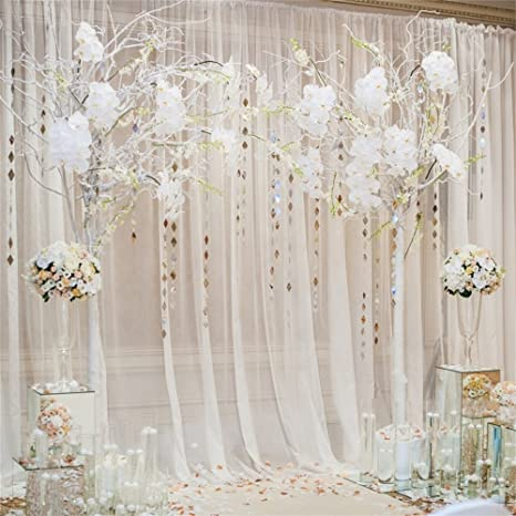 OFILA Wedding Backdrop 6x6ft Romantic Flowers Bride Groom Portraits Wedding  Reception Decoration Love Engagement Party Background Sweet Anniversary